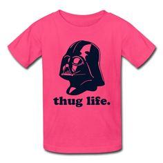 Darth Vader Thug Life Men s T-Shirt - bright green 78f19041487