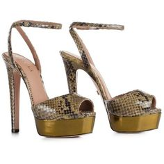 LE SILLA Sandal In Camouflage Colour In Keith Python. #lesilla #shoes #sandals