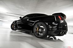 Nissan GTR Black Edition: Another car that proves with great technology you don't need big displacement or even really big power to be fast as all hell.