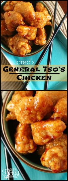 This General Tso's Chicken is full of incredible flavor. It is a delicious, lightly fried Chinese-style chicken that is crispy, sweet, and slightly spicy. via @favfamilyrecipz