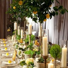 Photo via Picture This! Wedding Photography in Atlanta, GA.  #interiordesign #decorating #interiordesigner #picturethis #photography #photographer #photo #tablescape #wedding #lemon #summer #party #event #outdoor #dining #entertaining #lovely #design #yellow #cream