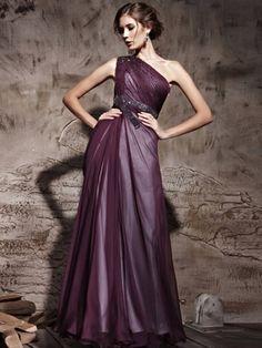 dark-purple-empire-one-shoulder-chiffon-beading-prom-dress-pd81238.jpg (450×600)