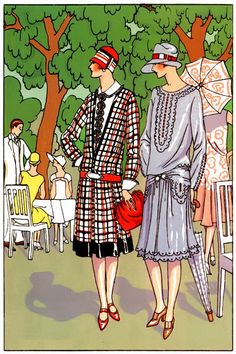 Art Deco Fashion Spring 1926  Designer Georges Doeuillet