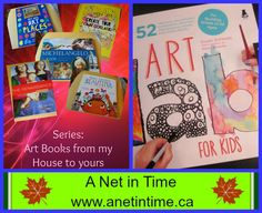 Art Series: Art Lab for Kids   A great art book for Children.   #art #artbooks #kidsart