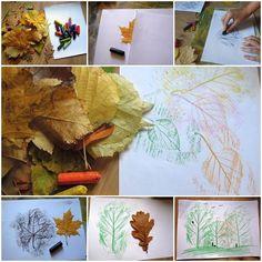 Creative Leaf Drawing  https://www.facebook.com/icreativeideas