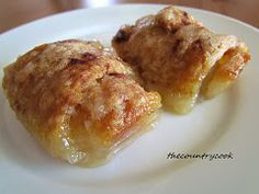 The Country Cook: Easy Apple Dumplins...minus the soda!