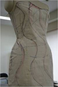 design lines dress