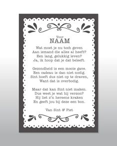 13 Beste Afbeeldingen Van Sinterklaas Gedichten