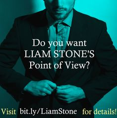 Want Liam Stone's point of view? I'm writing it for my readers who pre-order! Plus you'll get lots of outtakes not published in FORSAKEN and a sneak peek at Ella's story! Point Of View, Secret Life, Book Series, Books To Read, Lisa, Writing, Stone, Reading, My Love