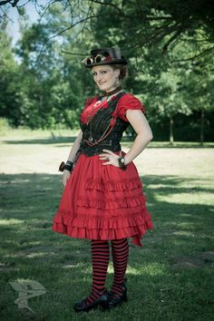 Just got tagged at this photo AyraLeona - Steampunk Girl