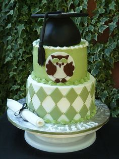 Graduation cake by Karen's kakes, via Flickr