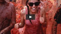 """This is """"Tomatina"""" by Drea Cooper on Vimeo, the home for high quality videos and the people who love them. Filmmaking, Videos, Tourism, Films, California, People, Fun, Travel, Vacation"""