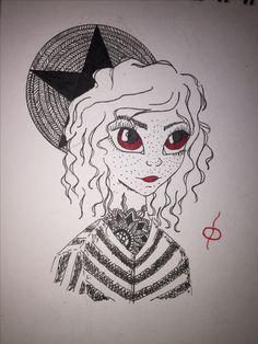 #drawing #halloween #girl