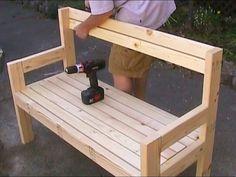 sillas de madera para jardin - Buscar con Google