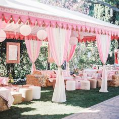 Hay Bale Seating | Whimsical Carnival Baby Shower | Private Residence - Beverly Hills