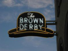 A popular restaurant in the Falls / Akron area - The Brown Derby