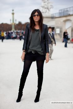 Silvia Vargas - Love her style! She's just so damn cool.