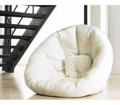 fauteuil canapé pouf pouf nest :