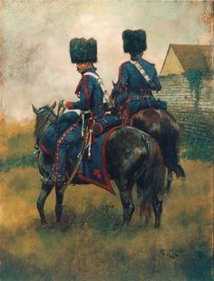 Keith Rocco - French Horse Artillery of the Guard