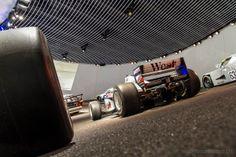 Racing cars at Mercedes-Benz Museum