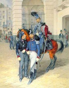 Ussari della Guardia Reale