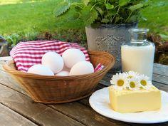 Latte, burro,uova: tre ingredienti delicati...ecco come conservarli al meglio