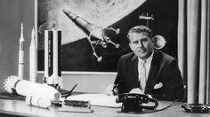 """Wernher von Braun Ein Mann der Gegensätze    Pionier der Raumfahrt und Erfinder der """"Wunderwaffe"""": Wernher von Braun baute Raketen für Hitler und Kennedy. Seine V-2-Rakete forderte viele Menschenleben. Dennoch wies er eine Mitschuld an den Verbrechen im Zweiten Weltkrieg von sich."""