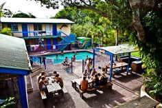 Backpacker Inn on the beach in Byron Bay Bay News, Byron Bay, Backpacker, Study Abroad, Hotel Reviews, Hostel, Lodges, Adventure Travel, Trip Advisor