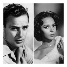Actor Marlon Brando was extremely attracted to Dorothy Dandridge. He once shocked an audience when he kissed Dandridge on the mouth during an awards ceremony. You see, Interracial mixing in Hollywood was unheard of in the 1950's and was frowned upon.