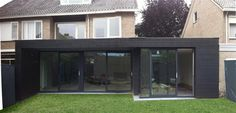 architect arend groenewegen verbouw ritme in hout Roof Extension, Extension Ideas, Studio Shed, House Extensions, Flat Roof, Cladding, Facade, My House, Building A House
