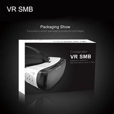 """Original Retail Box Google Cardboard VR SMB Virtual Reality VR Glasses 3D High Quality Helmet Phone for 4.5""""- 5.5"""" Smart Phone //Price: $53.36 & FREE Shipping //  #videogames #games #electronics #technology #tech #electronic Virtual Reality Glasses, Retail Box, Custom Packaging, Vr, Videogames, Helmet, Smartphone, Technology, Electronics"""