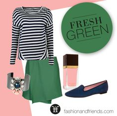 OOTD , GREEN, NAILPOLISH , PINK! FASHIONLOVER ❤️ http://www.fashionandfriends.com