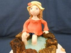 La Bambina al Laghetto - http://tortedecorate.eu/la-bambina-al-laghetto/