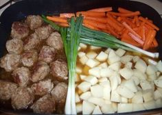 Kitchen Garden Skillet Recipe - entire meal made in an electric skillet