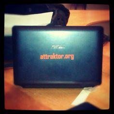 attraktor.org auf dem notebook Notebook, Instagram Posts, The Notebook, Exercise Book, Notebooks