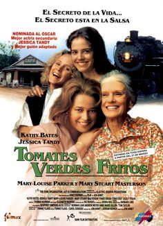 """Tomates verdes fritos es un clásico en las listas de """"Las mejores películas gastronómicas"""". Ambientada en dós épocas, nos ofrece un retrato de la sociedad sureña de los Estados Unidos, donde los tomates verdes fritos es uno de los platos más típicos. #tomates #gastronomía #películas #estados unidos"""