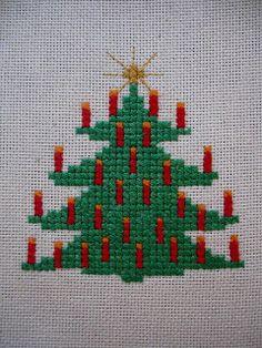 cross stitch christmas patterns free | Free Cross Stitch Patterns by AlitaDesigns