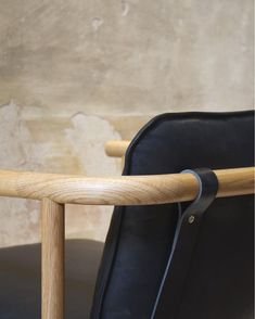 "333 Likes, 9 Comments - SKEEHAN pty ltd (@skeehanstudio) on Instagram: ""HOSHI armchair- American oak upholstered in Verona leather by @instyle_au On display in Milan with…"""