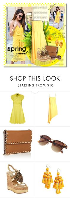 """""""Spring Mood"""" by petri5 ❤ liked on Polyvore featuring Levi's, City Chic, CYCLE, Valentino, Lauren Ralph Lauren and Kate Spade"""
