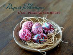 La Fabutineuse: Des oeufs décorés de pisanka pour Pâques