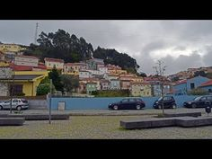 Near Oporto and  Gaia, is a small town with many colorful #houses.  #wanderlust #travel #seethevideo #subscribe #afurada #youtube