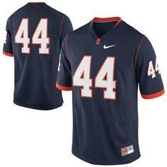 333f3d750 Nike Syracuse Orange  44 Game Football Jersey - Navy Blue