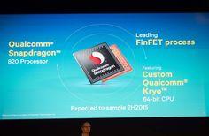 Qualcomm unveils Snapdragon 820 with Kryo 64-bit CPU - http://www.doi-toshin.com/qualcomm-unveils-snapdragon-820-with-kryo-64-bit-cpu/