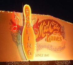 Mid-City Lanes Rock 'n' Bowl, New Orleans. So going. on the must-do list!