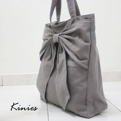 NEW YEAR SALE Handbags Women Handmade Bow Tote Gift by Kinies