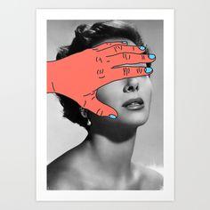 Burning+Hands+Art+Print+by+Tyler+Spangler+-+$18.00
