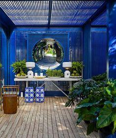 outdoor patio   Blue Rooms   Interior Design