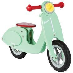 Scooter de madera sin pedales Mint - Janod