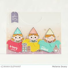 mama elephant   design blog: Mini Messages and Mini Tags with Deasy