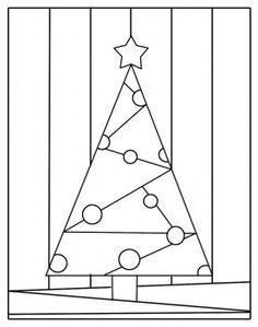 #Arbre à colorier - #jeux éducatif sur le thème de #Noël - apprendre en s'amusant !